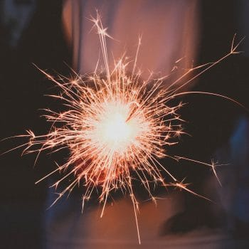 DIY fireworks on bonfire night