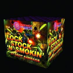 Lock, Stock 'N' Smokin' firework
