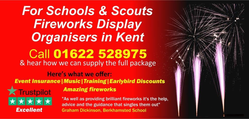 school fireworks in kent