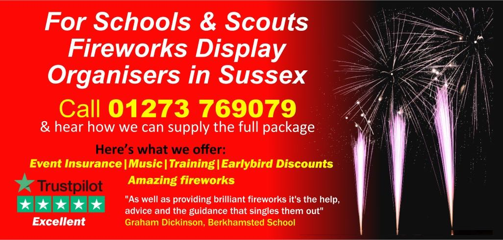 school fireworks in sussex