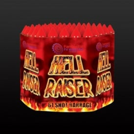 Picture of 61 shot barrage Hell Raiser.