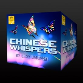 A picture of the quiet firework 'Chinese Whispers'.