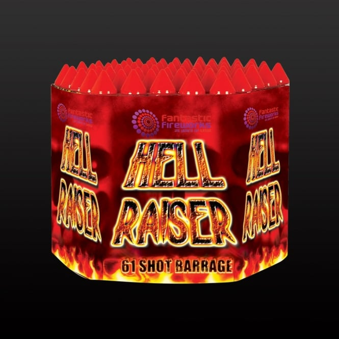 A picture of the loud firework 'Hell Raiser'.