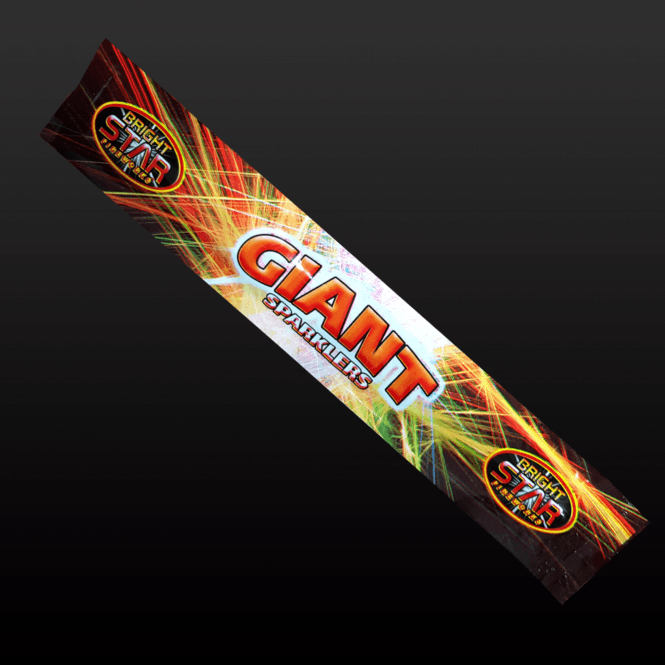 Picture of Giant sparklers.