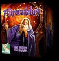 Abracadabra - firework for sale at Fantastic Fireworks.