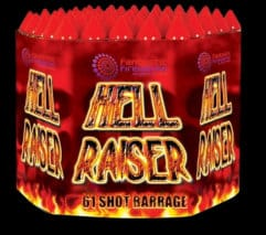 Hellraiser - firework for sale at Fantastic Fireworks. Recommended for a Halloween display!