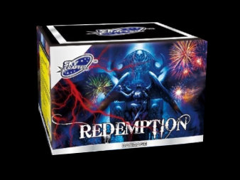 Redemption - loud firework for sale at Fantastic Fireworks. Recommended for a Halloween display!
