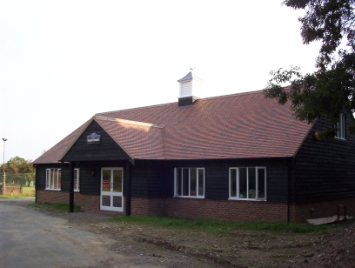 Picture of the Rocket Shop - from the front.