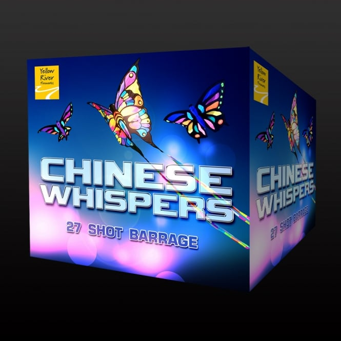 Image of one of our best selling low noise fireworks - Chinese Whisper