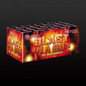 Blast in a Box - 190 Shot Single Ignition Firework