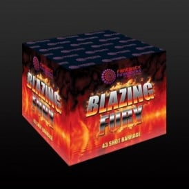 Blazing Fury - 43 shot Barrage Firework