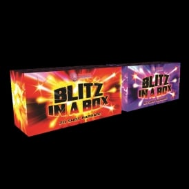 Blitz in a Box - 130 Shot firework