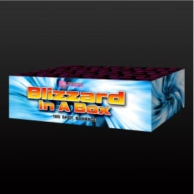Blizzard In A Box - 180 shot firework