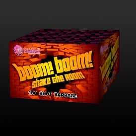 Boom Boom Shake The Room - 100 shot firework