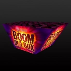 Boom in a Box - 50 shot barrage