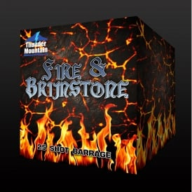 Fire & Brimstone - 25 shot firework