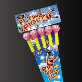 Flying Pig Rockets - Pack of 5