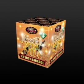 Jewel of the Nile - 25 Shot Barrage Firework