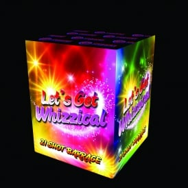 Lets Get Whizzical - 21 shot firework