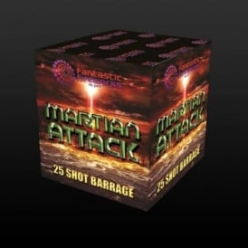 Martian Attack - 25 Shot Firework