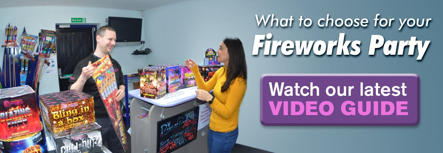 Choosing Your Party Fireworks