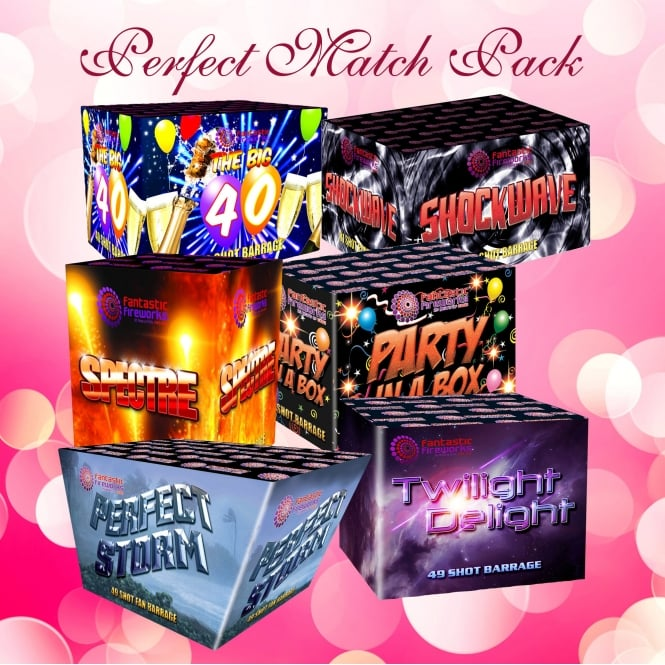 Fantastic Fireworks Perfect Match Wedding Fireworks Pack