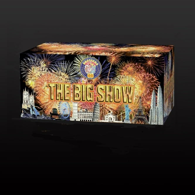 Brothers Pyrotechnics The Big Show - 83 shot barrage
