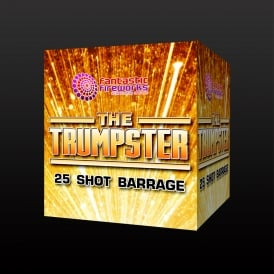 The Trumpster - 25 shot fiework