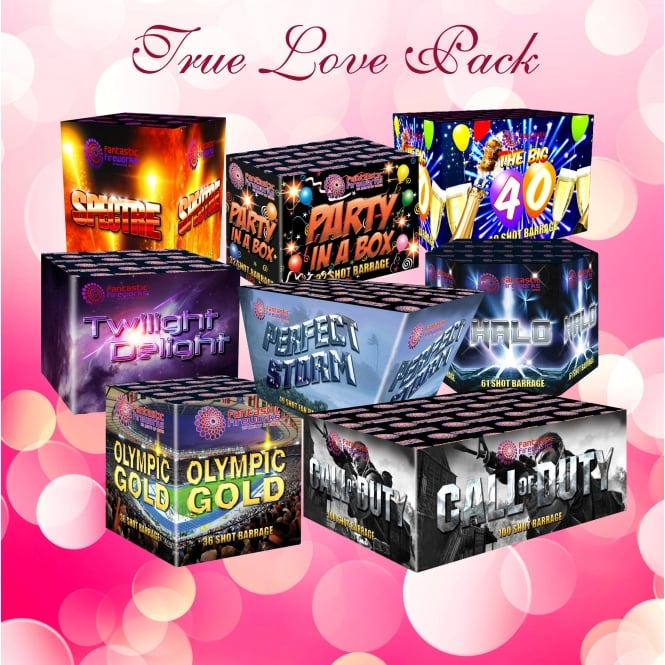 Fantastic Fireworks True Love Wedding Fireworks Pack