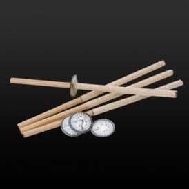 Wax Procession Torches - 10 Packs of 5 (50)